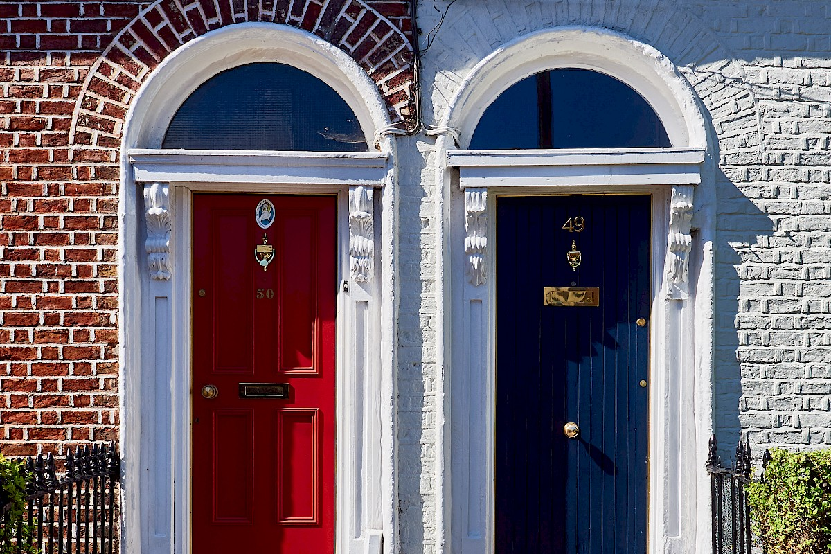 Dublin - Bunt, bunt, bunt sind alle meine Türen