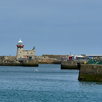 Am Hafen in Howth