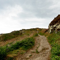 Wanderweg in Howth