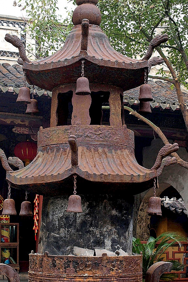 Tempel in Xitang (China)